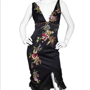 NWT Julian Joyce By Mandalay Black Dress